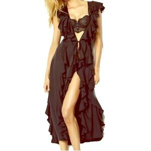Victoria's Secret Ruffle Robe Duster